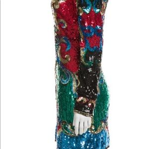 Balmain 2016 runway sequined dress